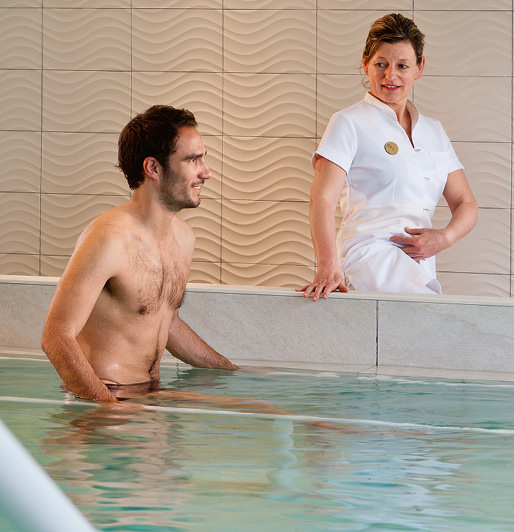 A 6-day spa treatment program comprising 24 treatments* to give you relief from arthritis