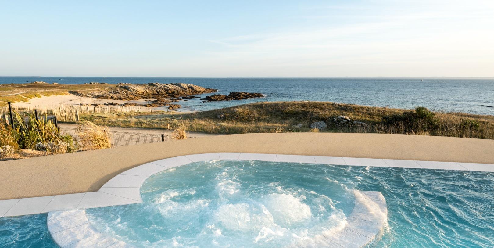 Thalasso di t tique s jour cure minceur quiberon for Thalasso quiberon piscine